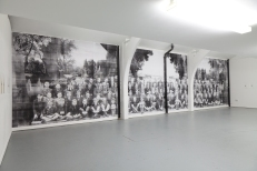 Palindrome Diptych-installation view